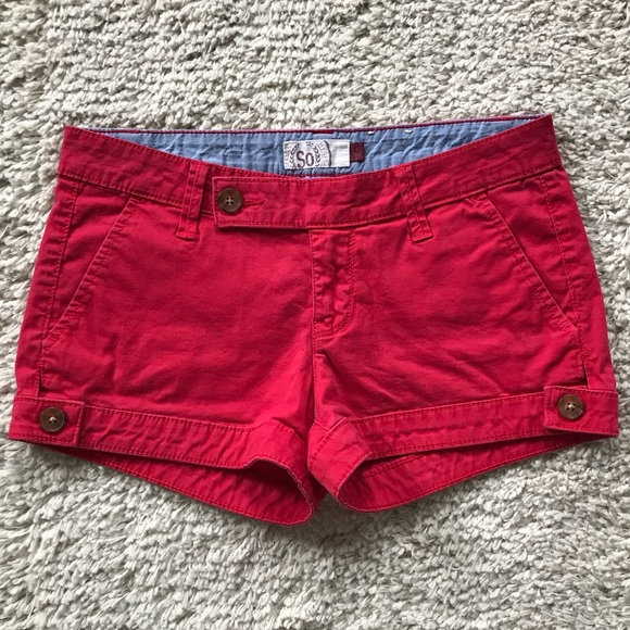 SO Pants - SO | Cargo Shortie Shorts